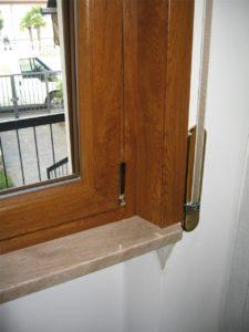 Dettaglio rivestimento in PVC