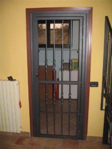 Grata di sicurezza per porta