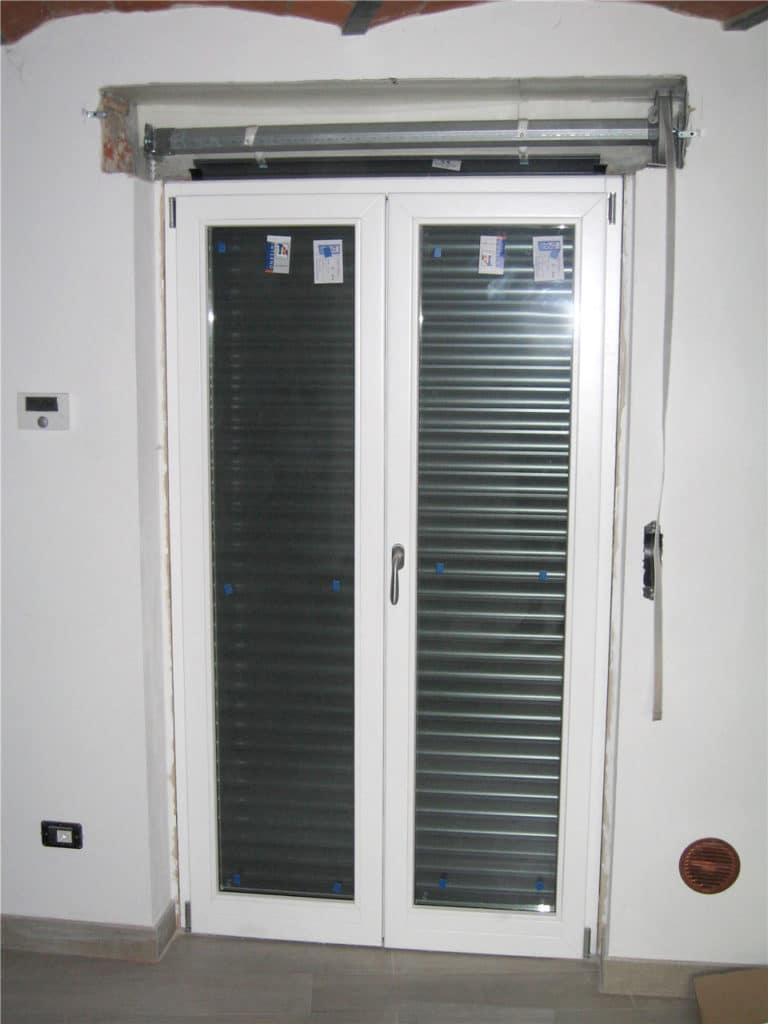 Serramenti in legno alluminio doordesign porte e - Serranda porta finestra ...