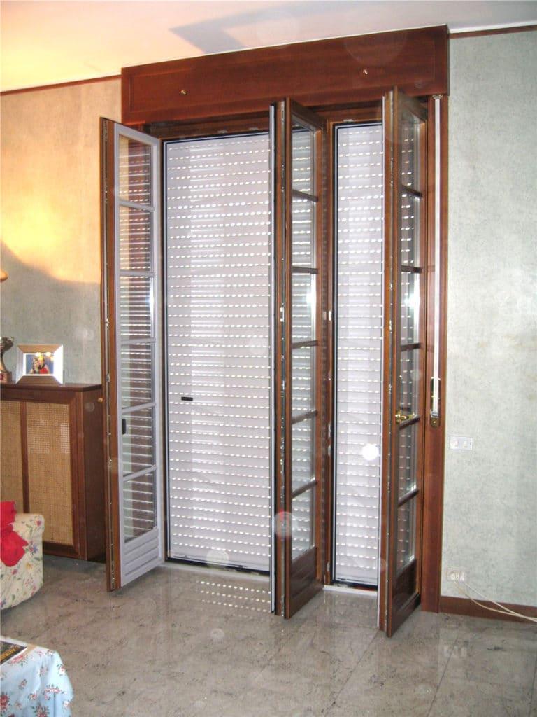 Serramenti in legno alluminio doordesign porte e - Porta finestra alluminio ...